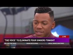 Chris Blue reacts to making The Voice Top 4, saying goodbye to fellow contestants - YouTube