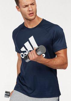 adidas Performance Funktionsshirt »D2M TEE LOGO« für 27,95€. Funktionsshirt von adidas, Großer Logodruck, Rundhalsausschnitt bei OTTO