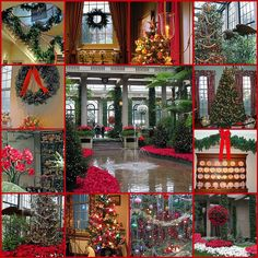 Christmas at #Winterthur, #Wilmington, DE For in-car GPS and online mapping services, use: 5105 Kennett Pike, Wilmington, DE 19807
