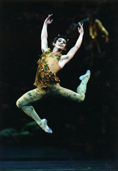 An actor portraying Puck in a ballet version of Midsummer--this costume is pretty typical Ballet Costumes, Dance Costumes, Theatre Costumes, Midnight Summer Dream, Faerie Costume, Male Fairy, Male Ballet Dancers, Midsummer Nights Dream, Summer Solstice