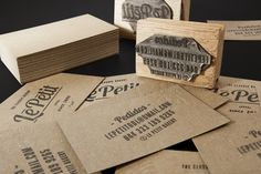 Business Cards Design Inspiration #008 | youandsaturation