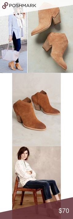ISO Dolce Vita Haku Bootie Sz 8 Taupe Cognac Please tag me if you see anyone selling these in a size 8 in the cognac or taupe color. Any neutral color. I would prefer suede but not leather and decently priced. Thanks! Dolce Vita Shoes Ankle Boots & Booties