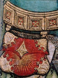 Hl. Martin teilt seinen Mantel Kunstwerk: Temperamalerei-Holz ; Einrichtung sakral ; Flügelaltar ; Meister des Halleiner Altars ; Salzburg ; Martin:02:006-010 Dokumentation: 1435 ; 1445 ; Salzburg ; Österreich ; Salzburg ; Salzburg Museum ; IN 17332 Anmerkungen: 85x32 ; Hallein