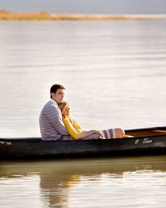 I would LOVE a photo of my husband and I like this... now if only I could find a lake (and a canoe).