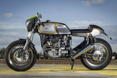 Honda CX500 by Heinz Christmann LEft Side