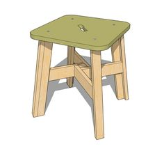 See related links to what you are looking for. Diy Projects To Build, Weekend Projects, Wood Projects, Craft Projects, Craft Ideas, Diy Furniture, Furniture Design, Simple Coffee Table, Wood Stool