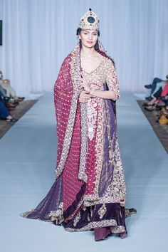2013 Spring Collection by Sara Rohale Asghar (Pakistani, Bridal Couture)