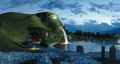In Innsbruck, Austria there is a place called Swarovski Crystal World (Swarovski Kristallwelten) where you can visit to experience everything you ever wanted to see when it comes to crystals