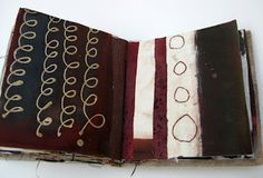 Great series of images from one sketchbook exploring a particular textile idea--go look. Thread and Thrift