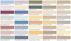Disney Paint Color Names  Behr Paints Chip Color Swatch Sample
