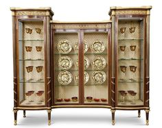 Antiques Sunny C 1900 Edwardian Glass Display Cabinet Petite Satinwood Inlay Mahogany To Win A High Admiration