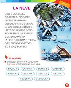 Learning Italian, Second Language, Gabriel, David, School, Winter Time, Speech Language Therapy, Autism, Art