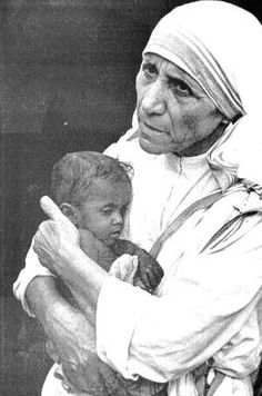 Famous sayings, quotes from famous people: Peace quotes from Mother Teresa