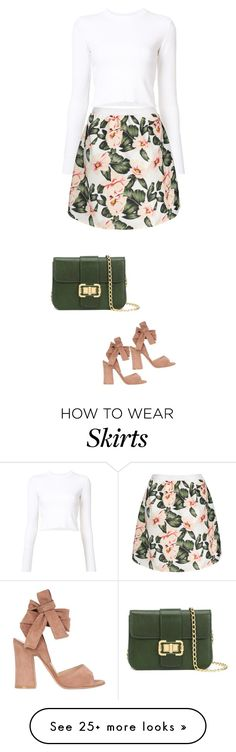 """""""just a romantic look"""" by ecem1 on Polyvore featuring Proenza Schouler, Gianvito Rossi and Monique Lhuillier"""