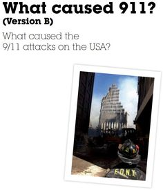 Another version of a booklet designed to help students understand some of the causes of 9/11.