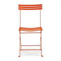 ethimo flower folding chair orange dzd liked on polyvore featuring home