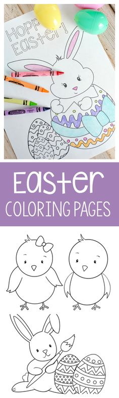 Printable Easter Col...