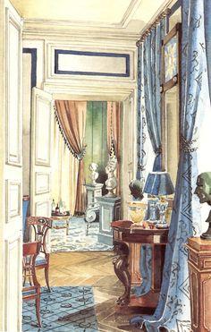 Mark D. Sikes: Chic People, Glamorous Places, Stylish Things.  Mark Hampton.  Madeleine Castaigne.