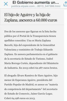 Enchufes Esperanza Aguirre