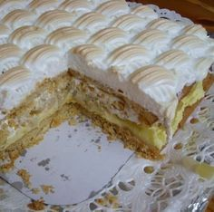 Baking - leipominen White Things white color k Baking Recipes, Cake Recipes, Dessert Recipes, Just Eat It, Sweet Pastries, Food Tasting, Pastry Cake, No Bake Treats, Healthy Treats
