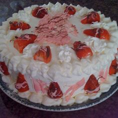 Strawberrie cake