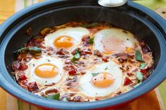 Shakshouka – Moroccan Eggs Tagine | Eat Drink Paleo