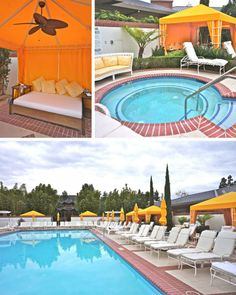 Outdoor Serenity Pool For Guests Age 18 And Older At The Spa Four Seasons Hotel Westlake Village