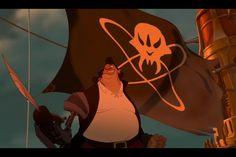 Evil Disney, Disney Love, Old Disney Movies, Long John Silver, The Black Cauldron, Treasure Planet, Fantasy Rpg, Space Fantasy, Treasure Island