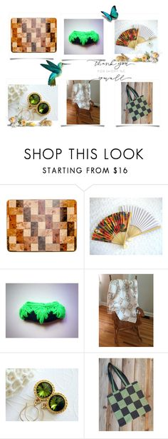 """""""Shop Small, Shop Etsy"""" by cozeequilts ❤ liked on Polyvore featuring Olivine"""