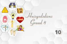 Huisgodsdiens: Graad 8 Youth Ministry, Afrikaans, Teaching Kids, Place Card Holders, Posts, Blog, Christian, Messages, Afrikaans Language