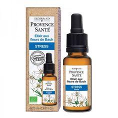 Elixir aux Fleurs de Bach Stress Provence Santé