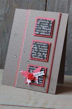 Geburtstagskarte Taupe, Bild1, gebastelt mit Produkten von Stampin' Up!