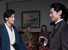 ディーン・フジオカ演じる五代友厚で振り返る「あさが来た」 Japanese Men, Japanese Beauty, Voice Actor, Asian Men, Beautiful Men, Handsome, Actors, Guys, Film