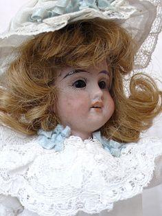 """""""Mignonette"""", antique German porcelain doll"""
