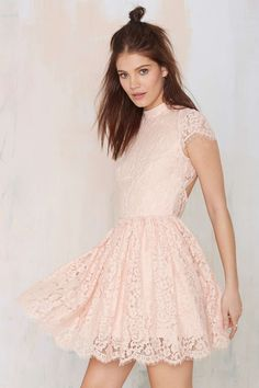 Keepsake Eclipse Lace Dress at Nasty Gal