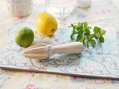 Magnolia Blue cutting/cheese board. Photo credit: MessyLa.com