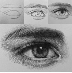 Eye of Egyptian artist. Practicing eye drawing in my hotel in Buenos Aires. Eye of Egyptian artist. Practicing eye drawing in my hotel in Buenos Aires. Realistic Eye Drawing, Drawing Eyes, Ballpoint Pen Drawing, Drawing With Pen, Drawing Artist, Anatomy Drawing, Drawing Practice, Eye Drawing Tutorials, Drawing Techniques