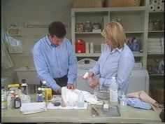 Wayne Edelman President of Meurice Garment Care shows Martha how to remove some common summer stains For cleaning tips and tricks visit our site http:& Laundry Solutions, Laundry Hacks, Cleaning Solutions, Deep Cleaning Tips, House Cleaning Tips, Cleaning Hacks, Laundry Hamper With Lid, Clean Baking Pans, Cleaning Painted Walls