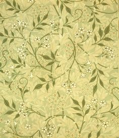 Jasmine wallpaper, by William Morris (1834-96). Paper. England, late 19th century.