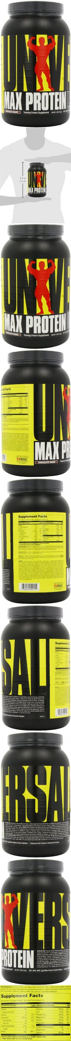 Universal Nutrition Max Protein, Chocolate Shake , 2.2-Pounds