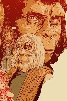 Planet of the Apes : Martin Ansin, Illustrator | Illustration Portfolio