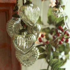 Beautiful mercury baubles