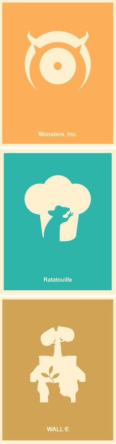minimalist posters movie disney