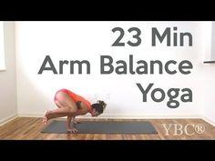 23 Minute Arm Balance Yoga Video — YOGABYCANDACE