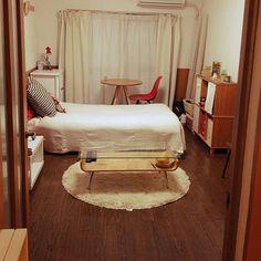 1K/9畳/一人暮らし/部屋全体のインテリア実例 - 2014-04-01 21:31:29 | RoomClip(ルームクリップ)