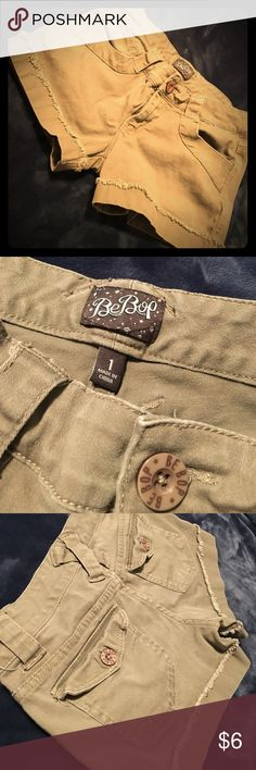 Shorts Size 1 Size 1 Green Khaki Shorts BeBop Shorts