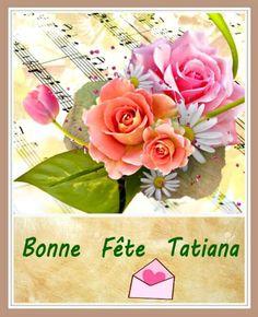 Gifs Bonne Fête prénom Tatiana - 12 janvier