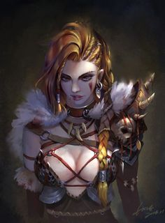 Female Human Barbarian