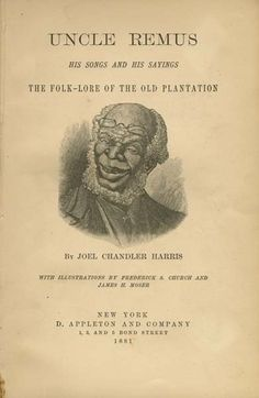 """Joel Chandler Harris's Uncle Remus """"The Trickster in African American Literature"""" National Humanities Center Trickster Tales, Myth Stories, Uncle Remus, African American Literature, Song Of The South, Book Authors, Children's Books, Fox Art, Love Book"""