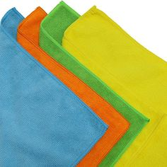 50 Pack - SimpleHouseware Microfiber Cleaning Cloth x Homemade Disinfecting Wipes, Homemade Cleaning Wipes, House Cleaning Tips, Cleaning Hacks, Natural Floor Cleaners, Blue Waffle, Organic Cleaning Products, Floor Care, Clean Microfiber